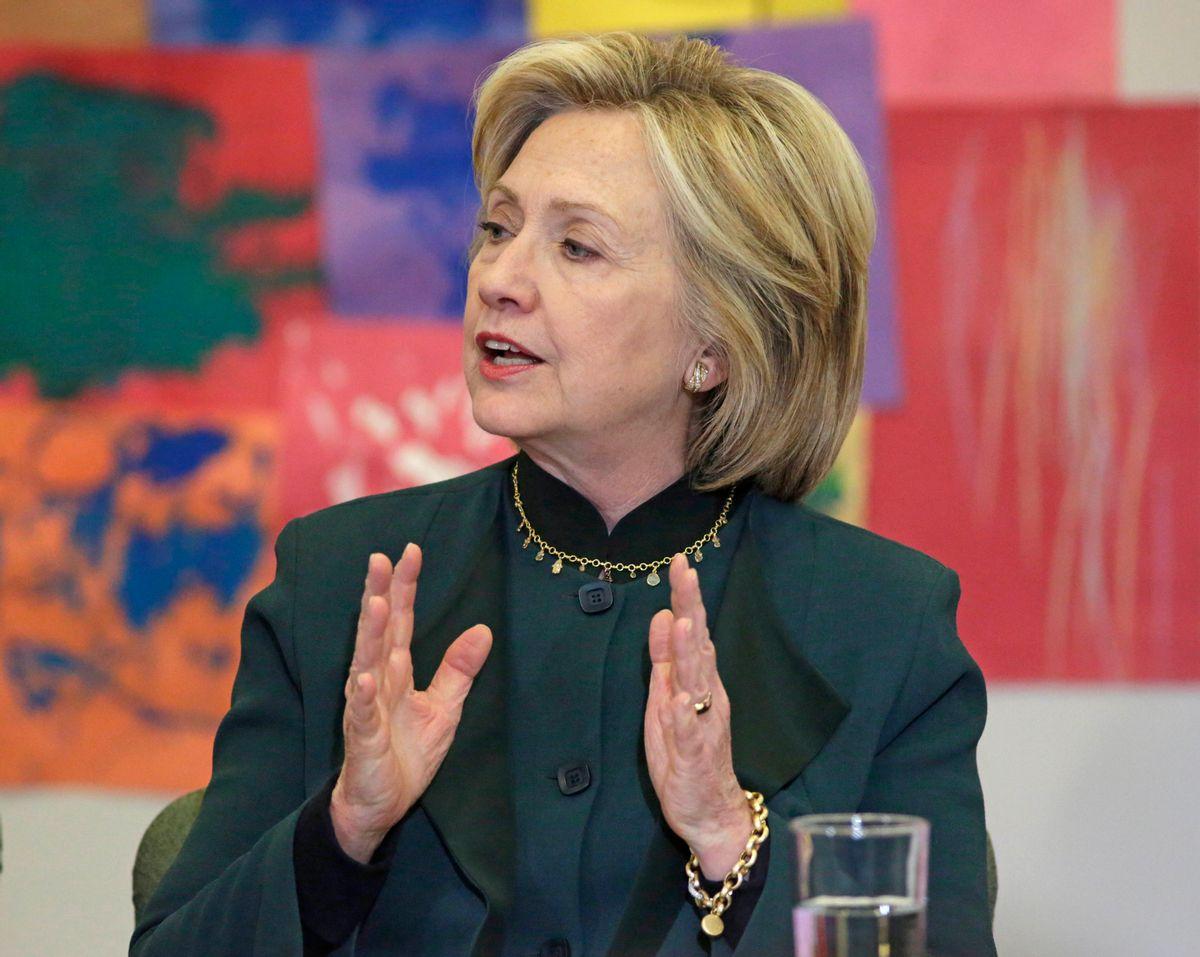 Hillary Rodham Clinton  (AP Photo/M. Spencer Green)
