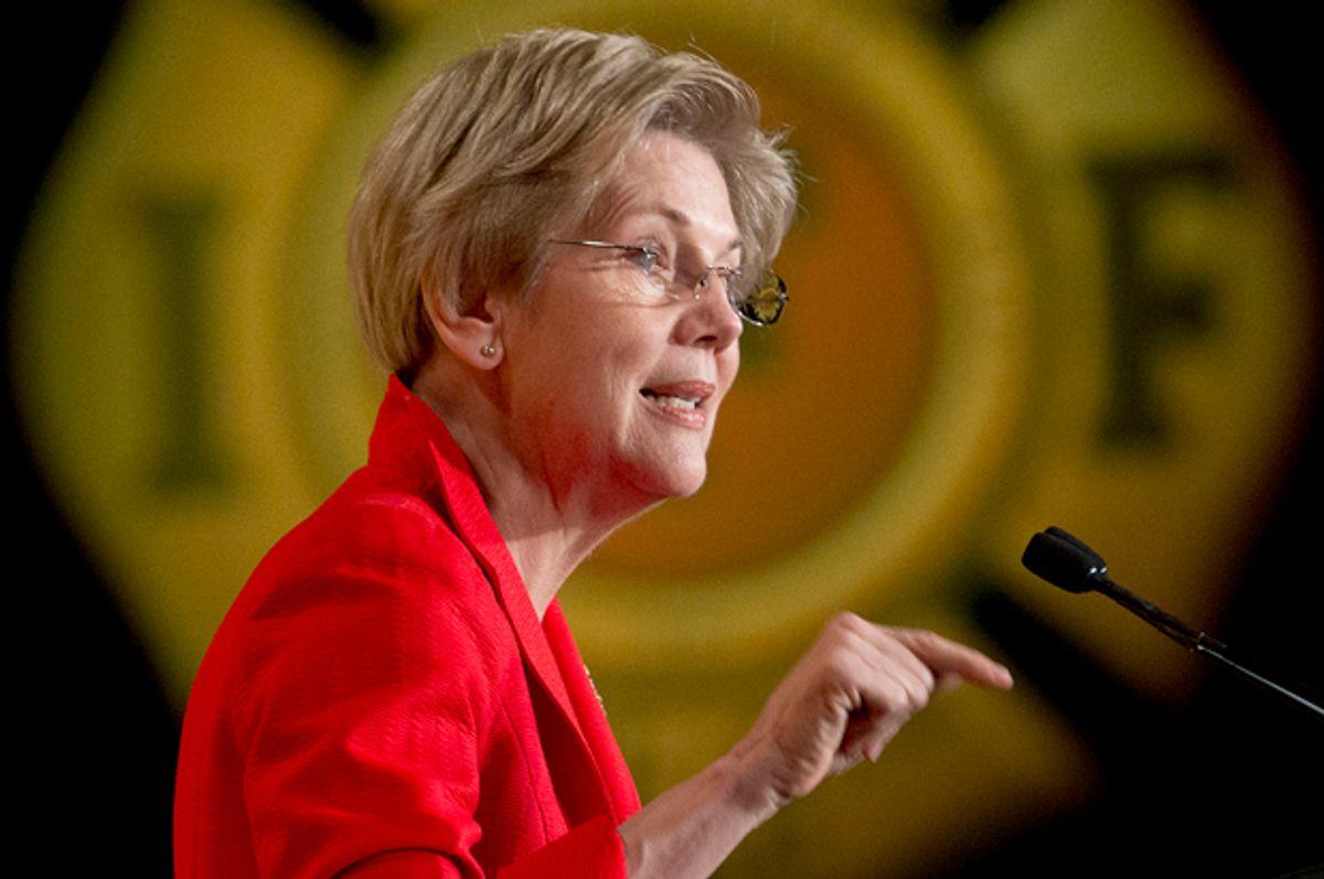 Elizabeth Warren       (AP/Pablo Martinez Monsivais)