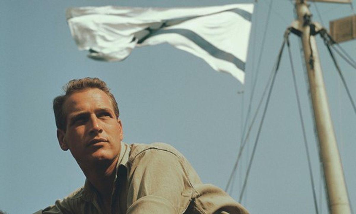 "Paul Newman in ""Exodus"""