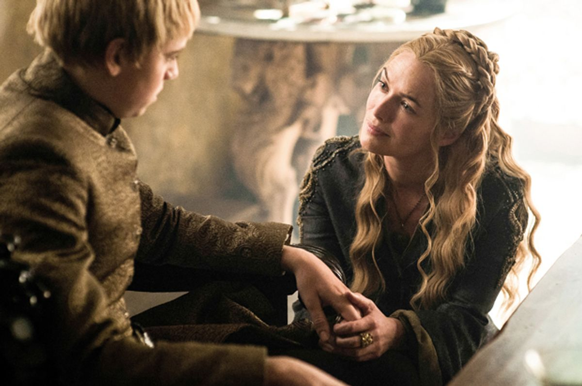 """Dean-Charles Chapman and Lena Headey in """"Game of Thrones""""        (HBO)"""