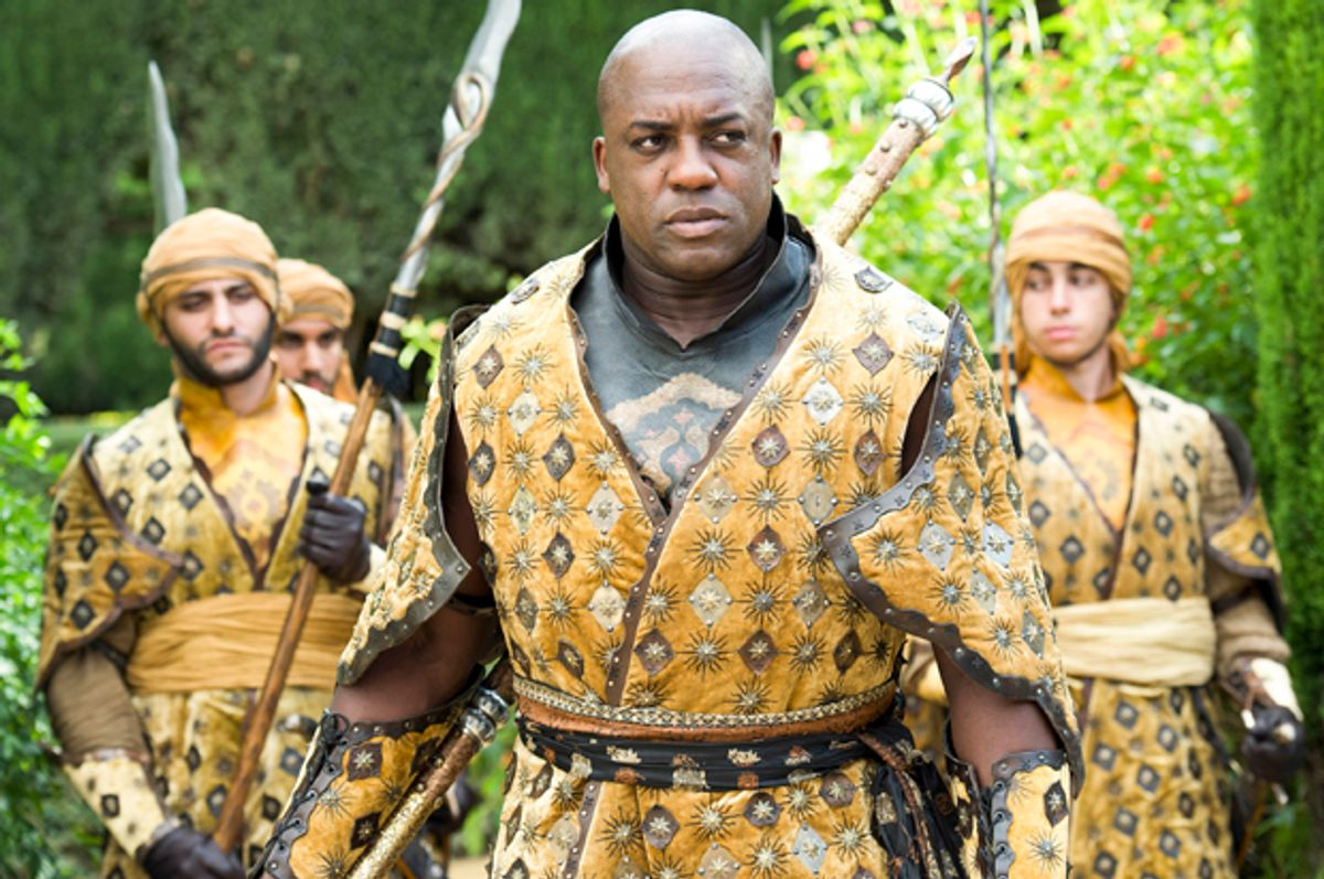 """DeObia Oparei in """"Game of Thrones""""         (HBO)"""