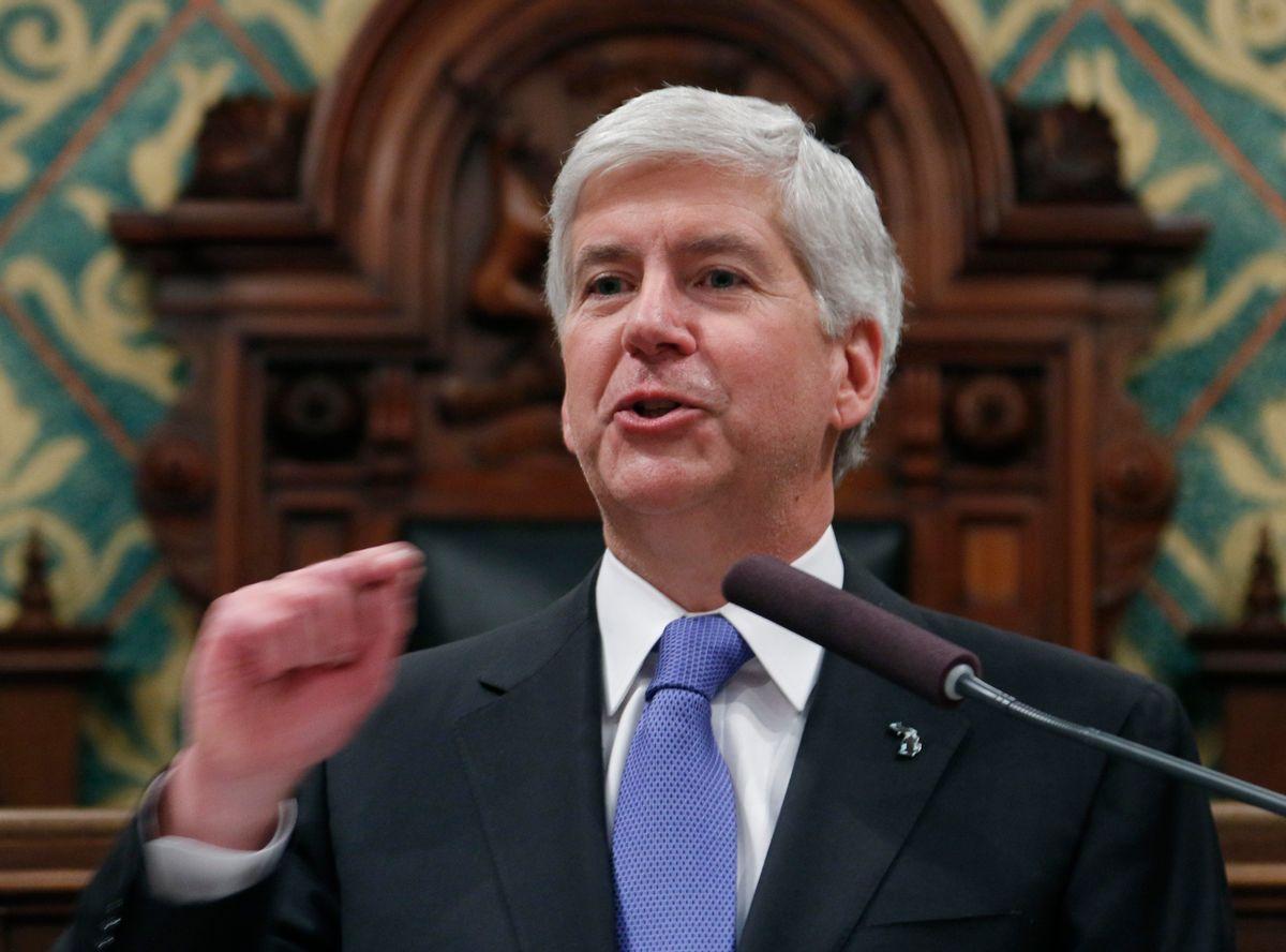 Michigan Gov. Rick Snyder (AP/Al Goldis)