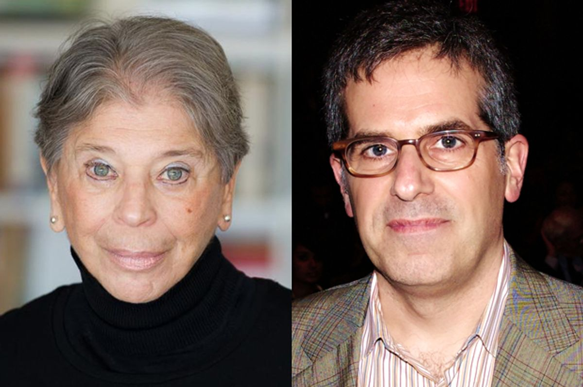 Vivian Gornick, Jonathan Lethem    (Macmillan/Mitchell Bach/Wikimedia/David Shankbone)