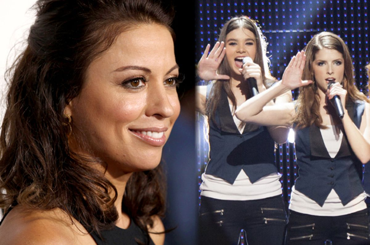"""Kay Cannon; Hailee Steinfeld and Anna Kendrick in """"Pitch Perfect 2""""      (AP/Matt Sayles/Universal Pictures)"""
