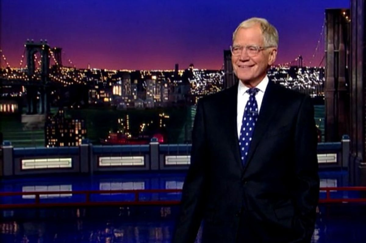 """David Letterman's final """"The Late Show.""""    (CBS)"""
