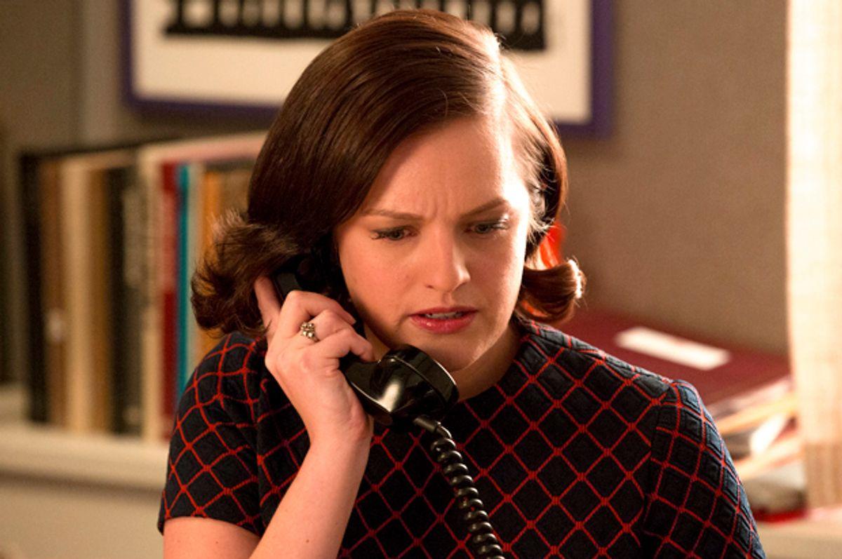 "Elisabeth Moss in ""Mad Men""                  (AMC/Michael Yarish)"