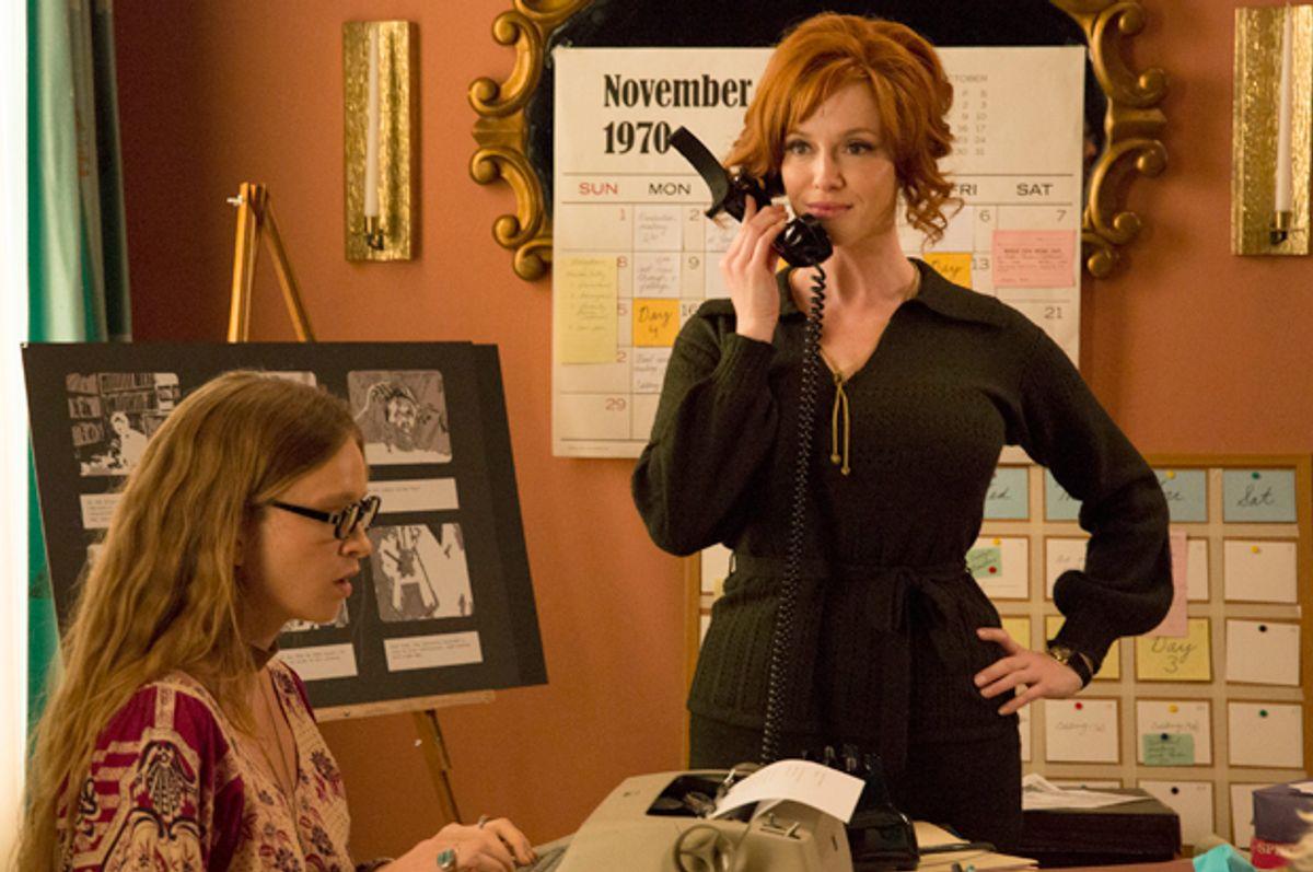 """Christina Hendricks in """"Mad Men""""                (AMC/Michael Yarish)"""