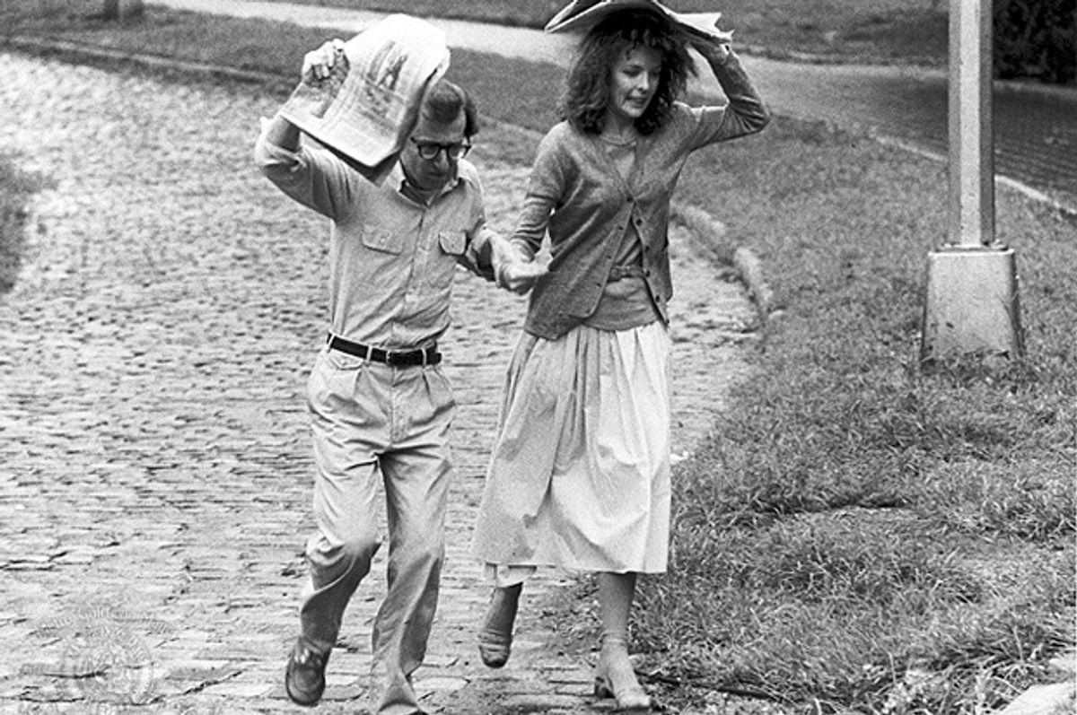 "Woody Allen and Diane Keaton in ""Manhattan""    (MGM)"