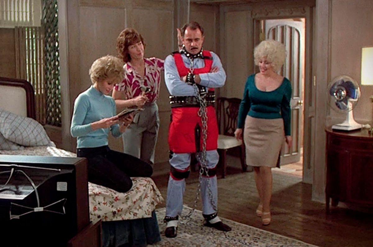 "Jane Fonda, Lily Tomlin, Dabney Coleman and Dolly Parton in ""Nine to Five""      (Twentieth Century Fox)"