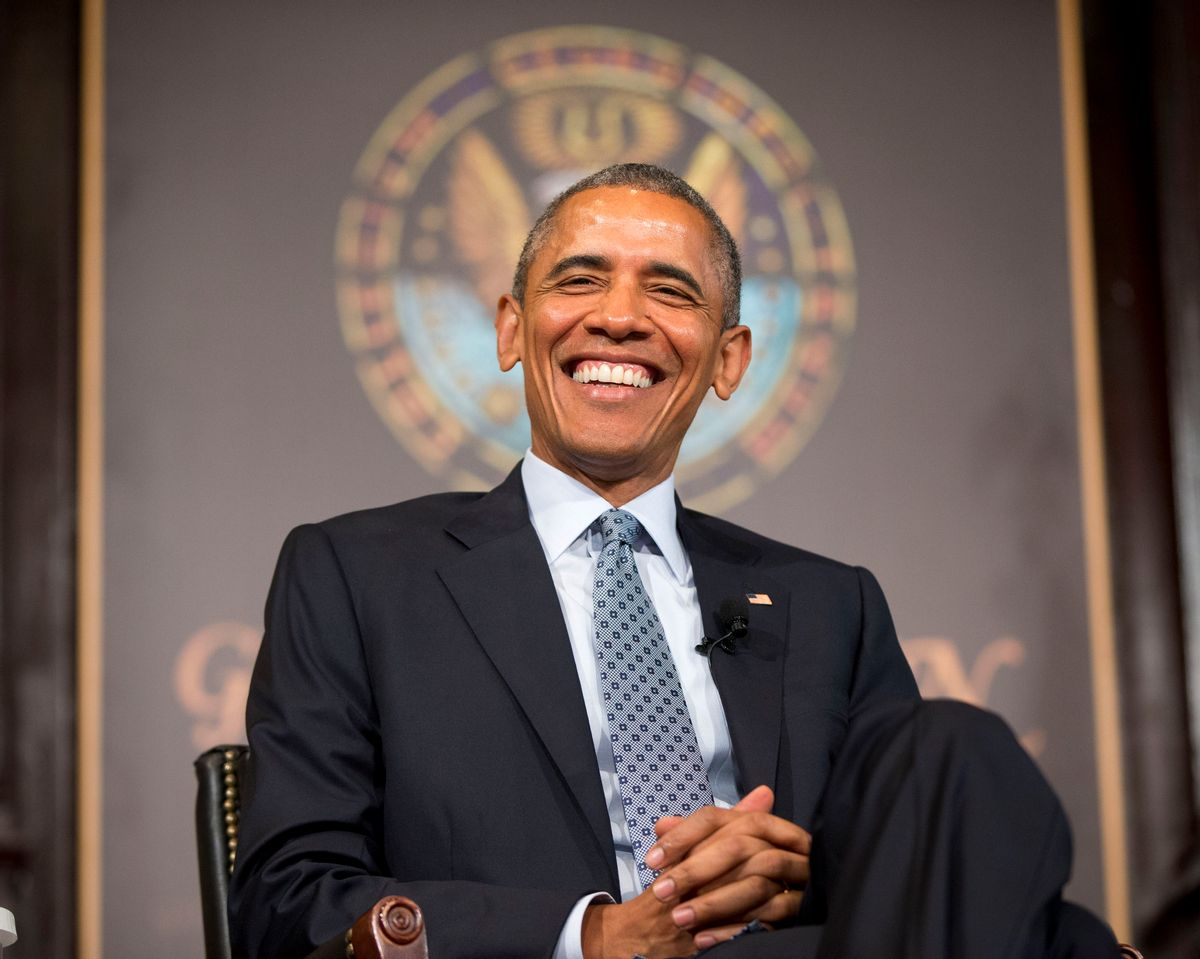 President Barack Obama smiles  (AP Photo/Pablo Martinez Monsivais)