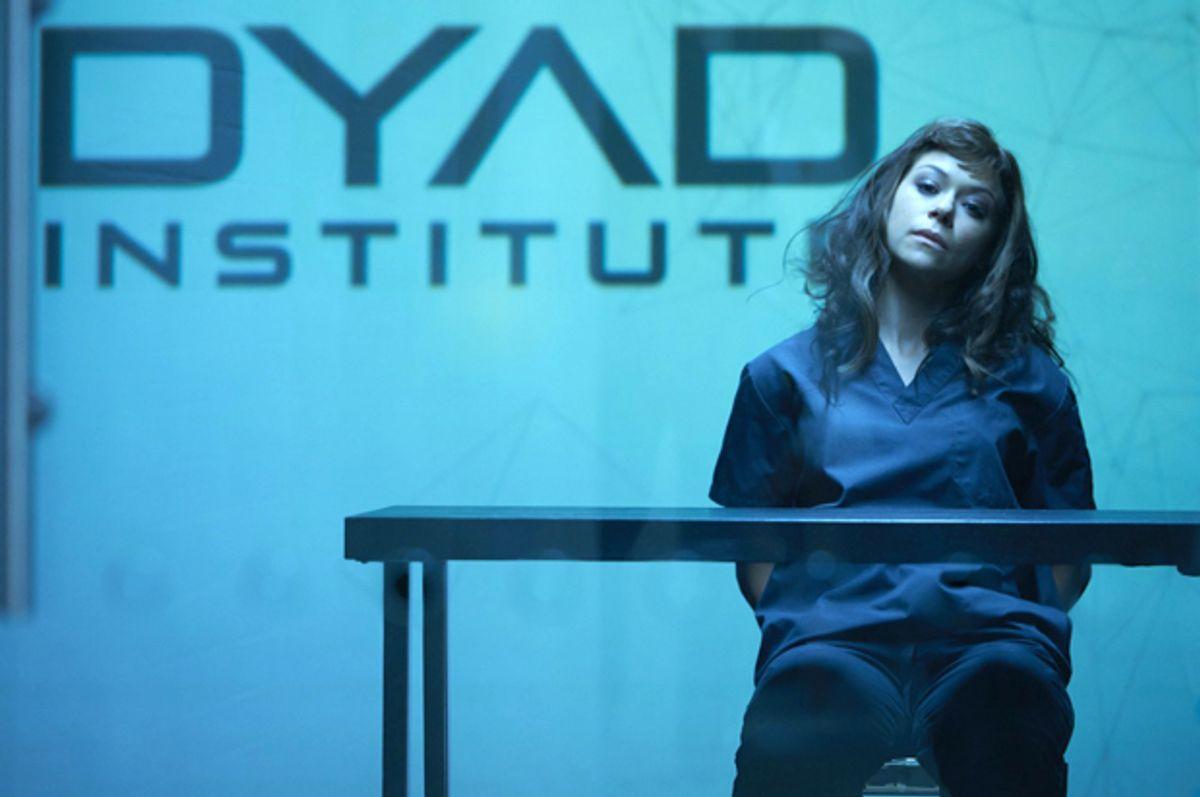 """Tatiana Maslany in """"Orphan Black""""     (BBC)"""