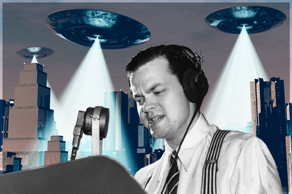 Orson Welles      (AP/<a href='http://www.shutterstock.com/gallery-863536p1.html'>boscorelli</a> via <a href='http://www.shutterstock.com/'>Shutterstock</a>/Salon)