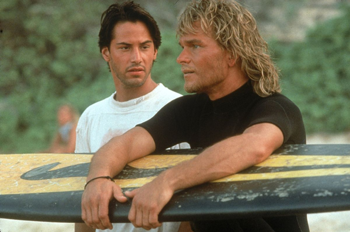 "Keanu Reeves and Patrick Swayze in ""Point Break""        (Twentieth Century Fox)"