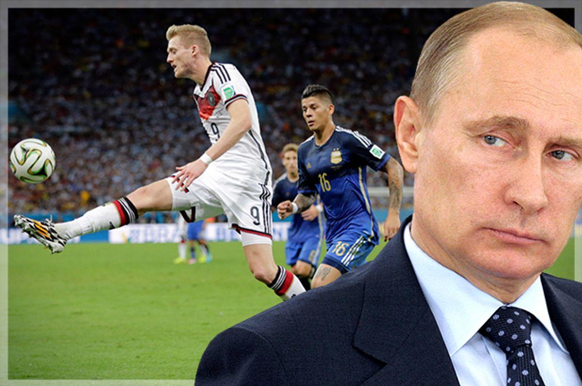 (AP/Matthias Schrader/Reuters/Alexei Druzhinin/Photo montage by Salon)
