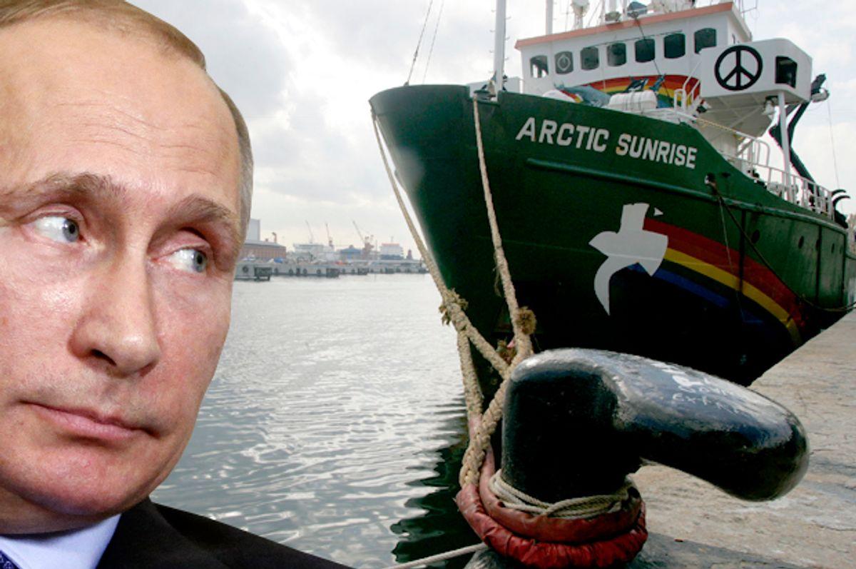 (Reuters/Maxim Shipenkov/Gustau Nacarino/Photo montage by Salon)