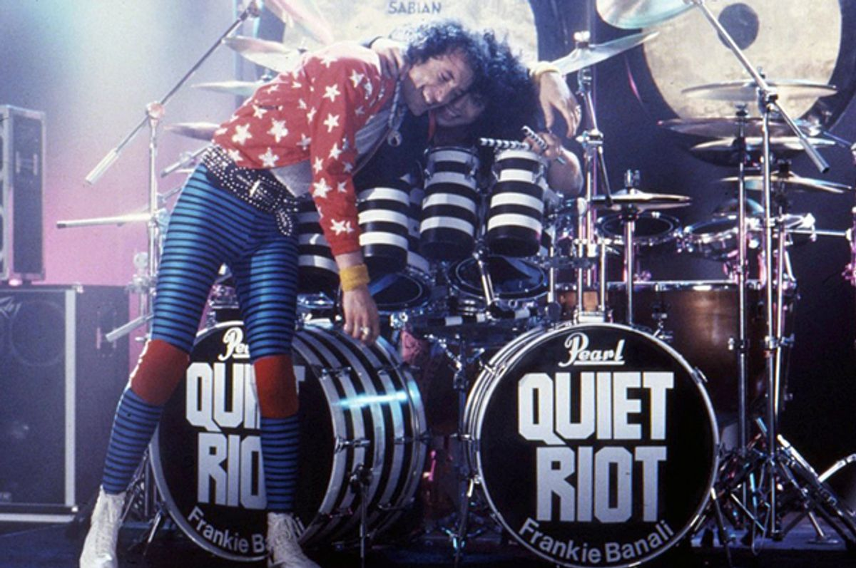 """Still from """"Quiet Riot: Well Now You're Here, There's No Way Back""""      (Pink Mermaid Productions)"""