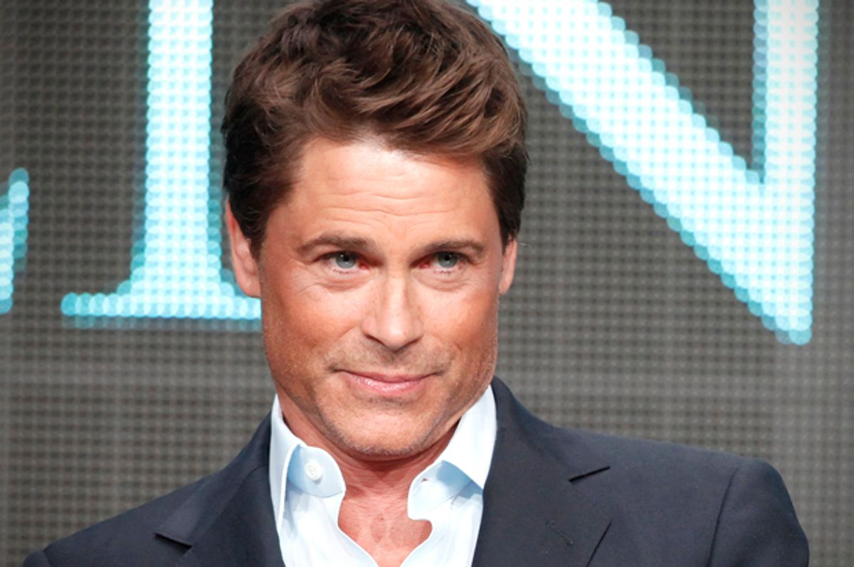 Rob Lowe       (Reuters/Fred Prouser)