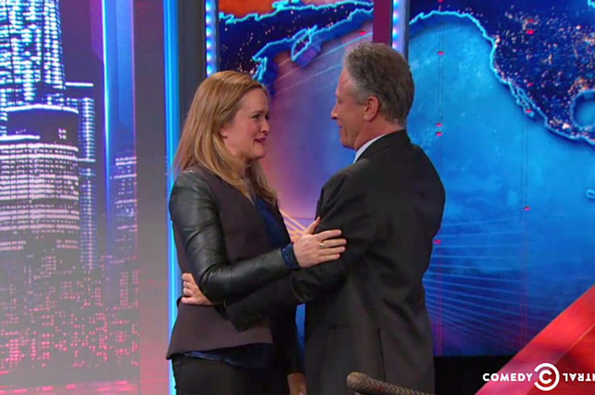Samantha Bee, Jon Stewart     (Comedy Central)