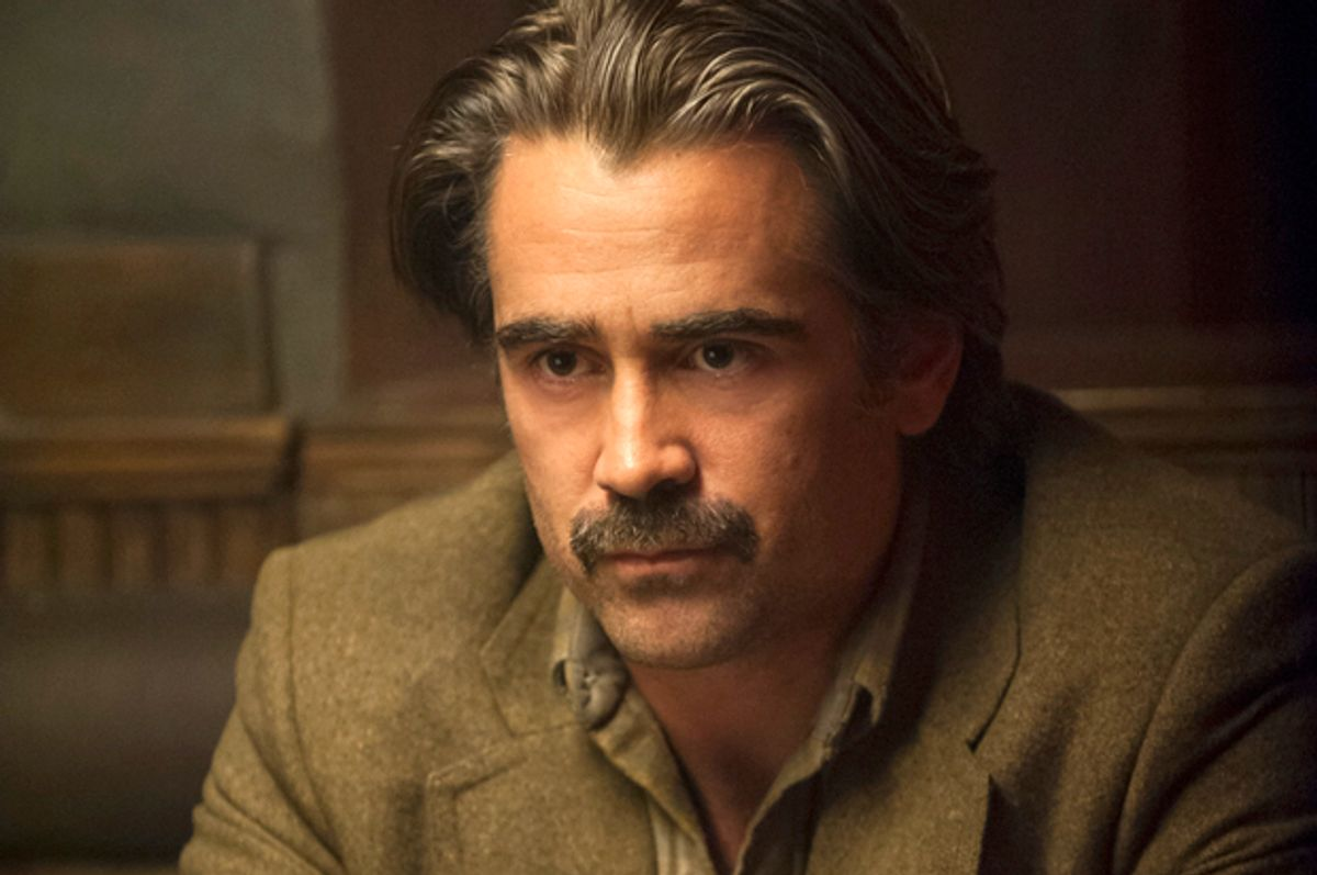 """Colin Farrell in """"True Detective""""         (HBO/Lacey Terrell)"""