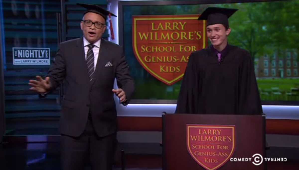 Larry Wilmore, Evan Young     (The Nightly Show)
