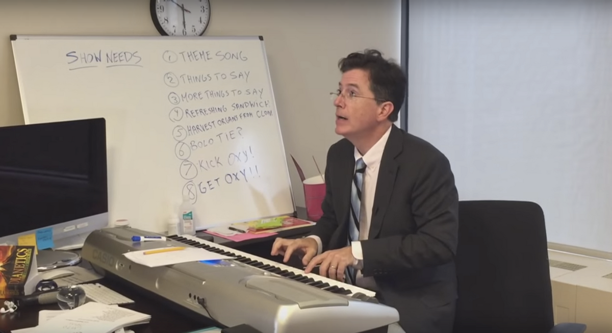 Stephen Colbert      (The Late Show With Stephen Colbert)