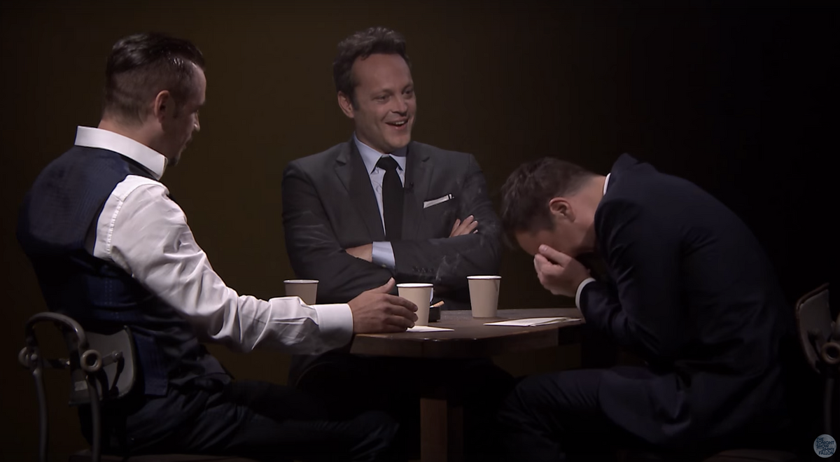 Colin Farrell, Vince Vaughn, Jimmy Fallon   (The Tonight Show Starring Jimmy Fallon)