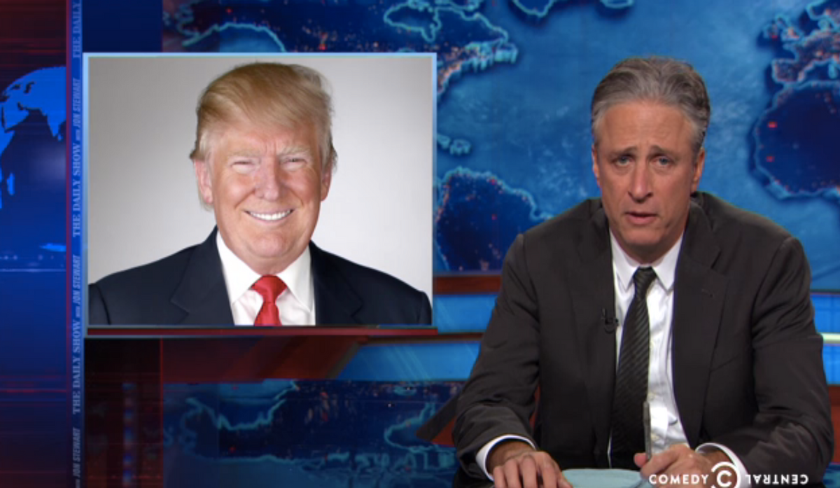 Donald Trump, Jon Stewart  (Comedy Central)