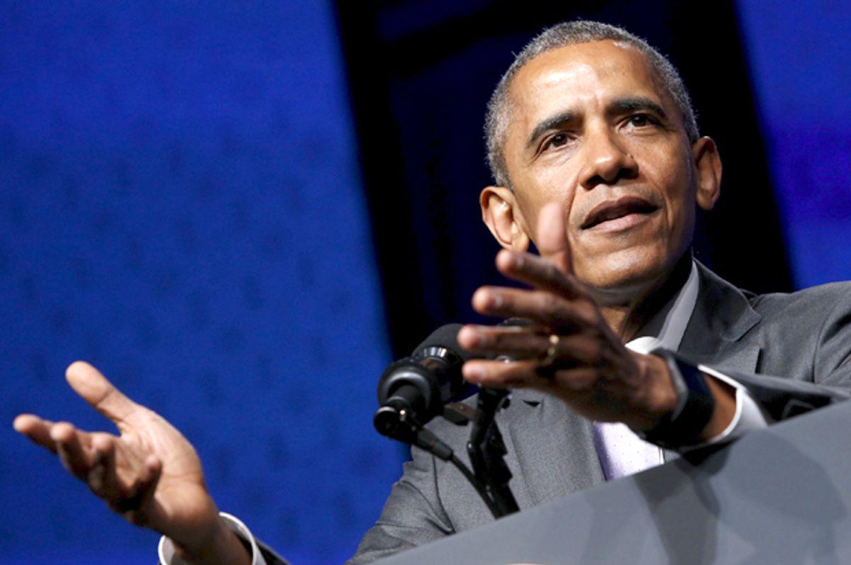 Barack Obama         (Reuters/Jonathan Ernst)
