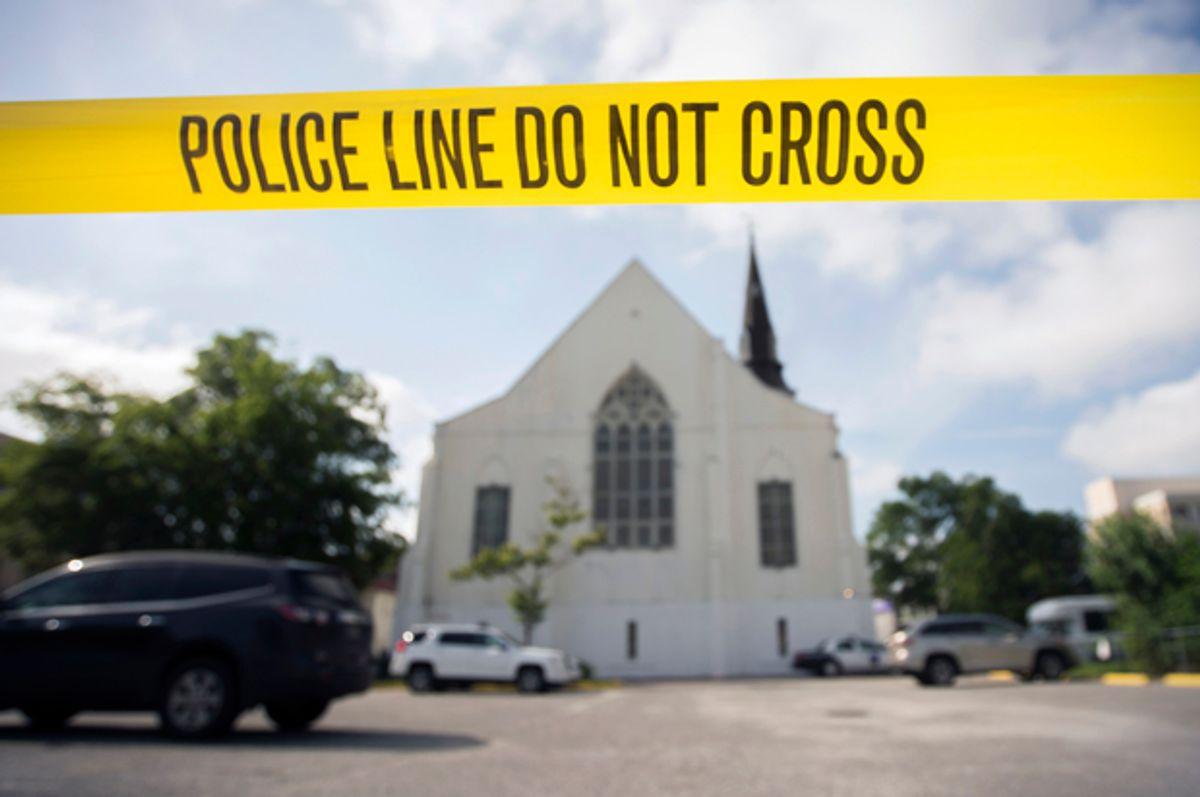 The AME Emanuel Church in Charleston, S.C., June 19, 2015.       (AP/Stephen B. Morton)