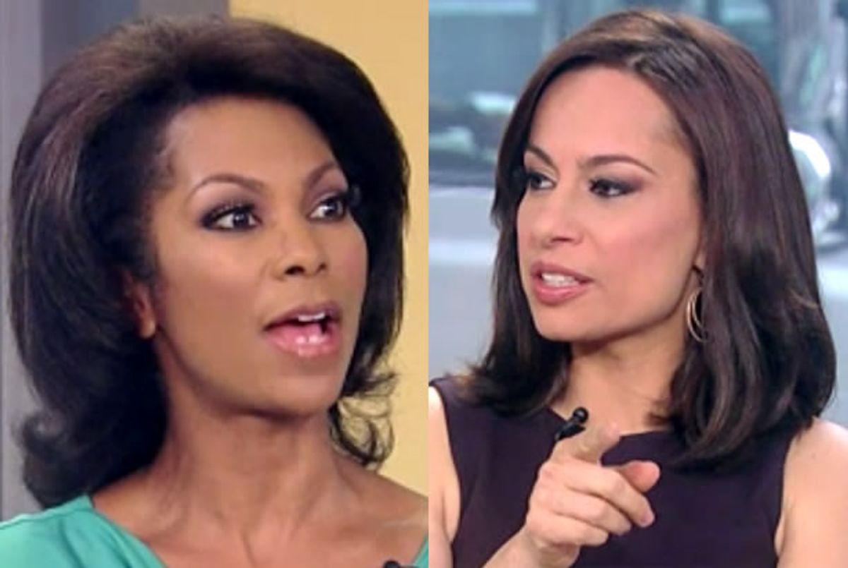 Harris Faulkner, Julie Roginsky (Fox News)