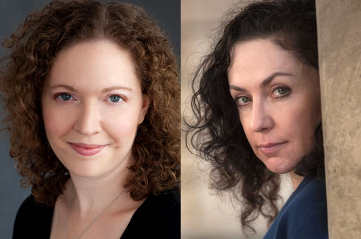 Stephanie Feldman, Rene Denfeld       (stephaniefeldman.com/HarperCollins/Gary Norman)