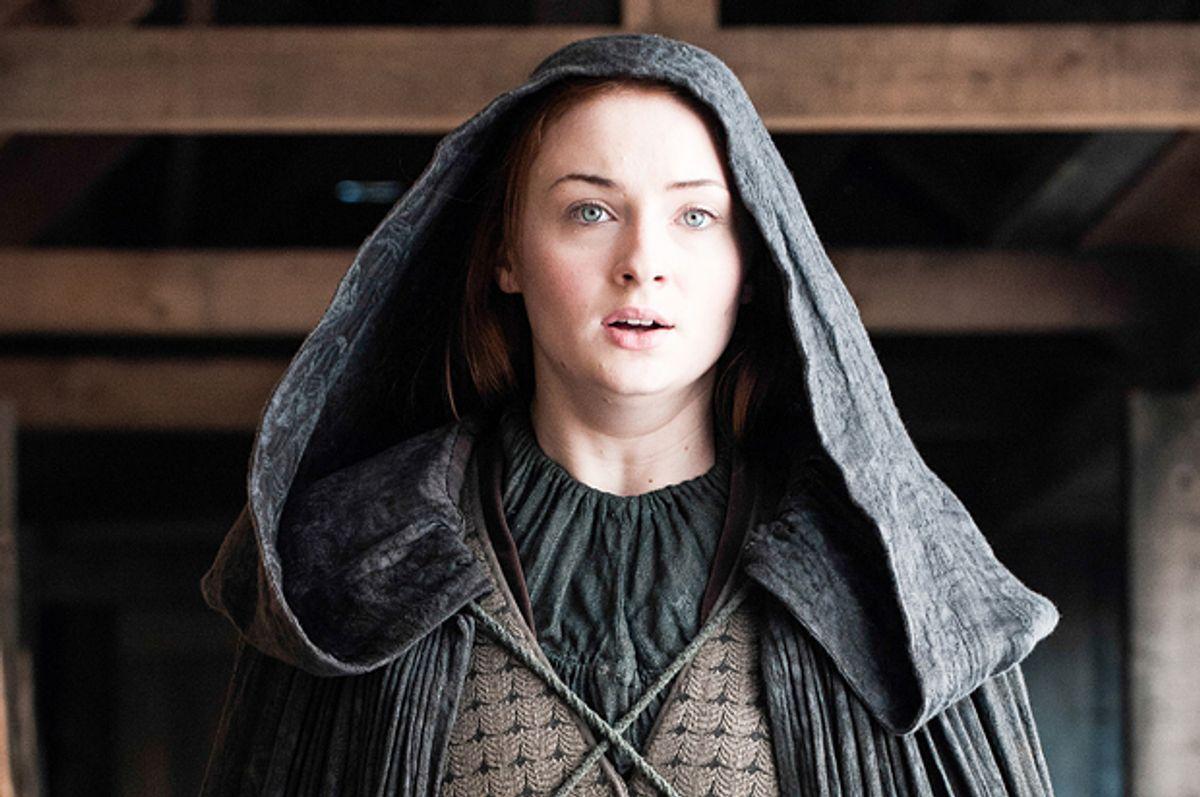 """Sophie Turner in """"Game of Thrones""""          (HBO/Helen Sloan)"""