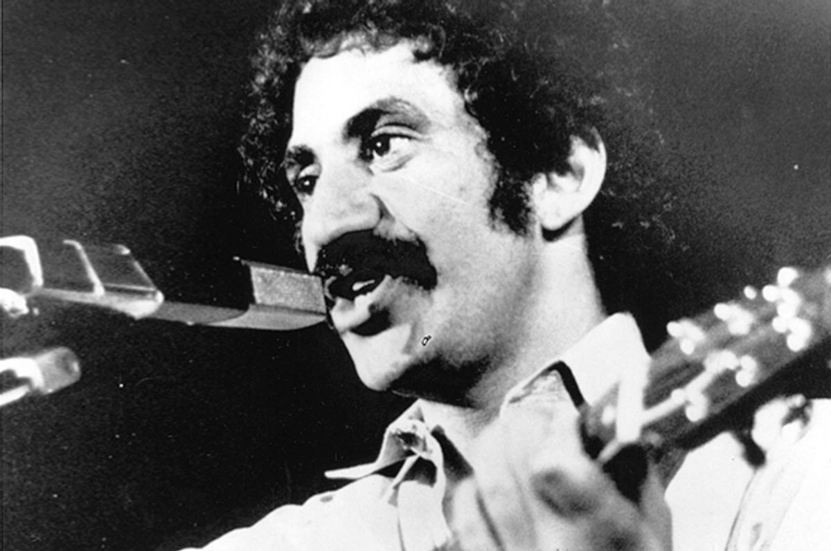 Jim Croce at his last performance in Natchitoches, La., Sept. 21, 1973.    (AP)