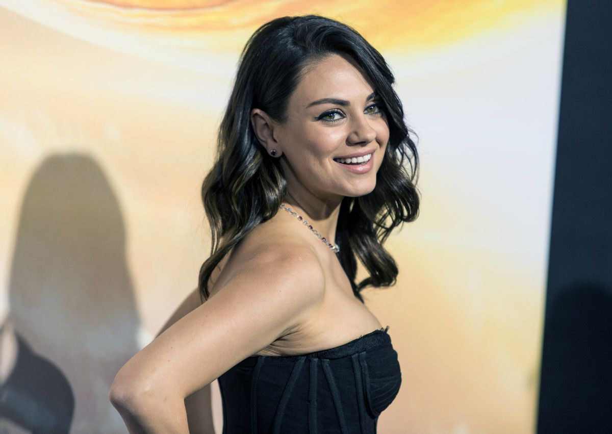 FILE - In this Feb. 2, 2015, file photo, actress Mila Kunis attends a premiere at TCL Chinese Theatre in Hollywood, Calif. Authorities are looking for a man sentenced for stalking Kunis after he escaped from a mental health facility in Southern California, on Saturday, May 30, 2015. (Photo by Paul A. Hebert/Invision/AP, File) (Paul A. Hebert/invision/ap)