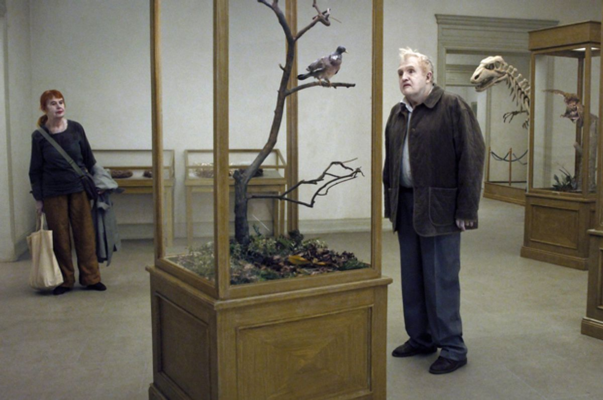 """Nils Westblom in """"A Pigeon Sat in a Branch Reflecting on Existence""""            (Roy Andersson Filmproduktion)"""