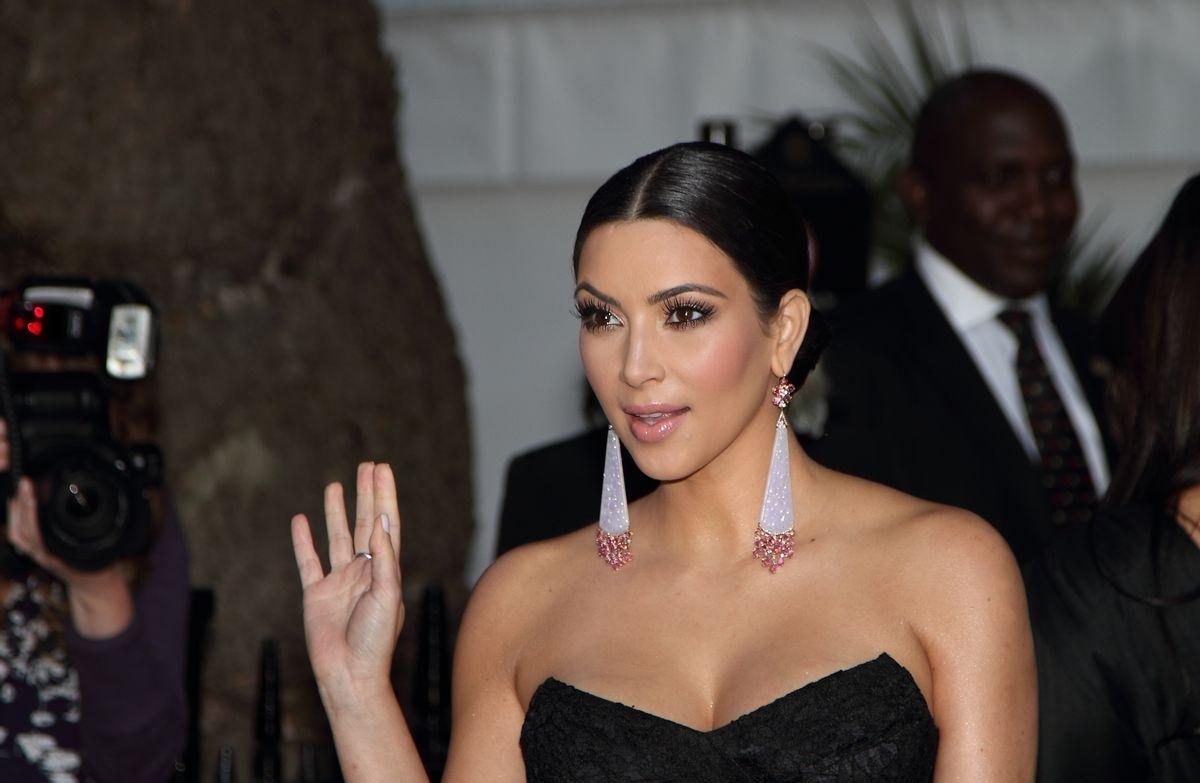 Kim Kardashian   (Shutterstock: lee james cox)