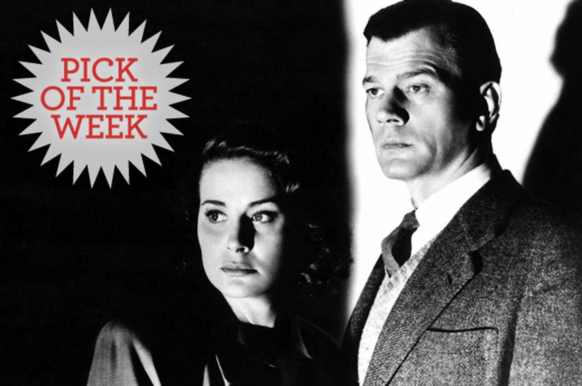 """Valli (left) and Joseph Cotten in """"The Third Man.""""  (Rialto Pictures)"""