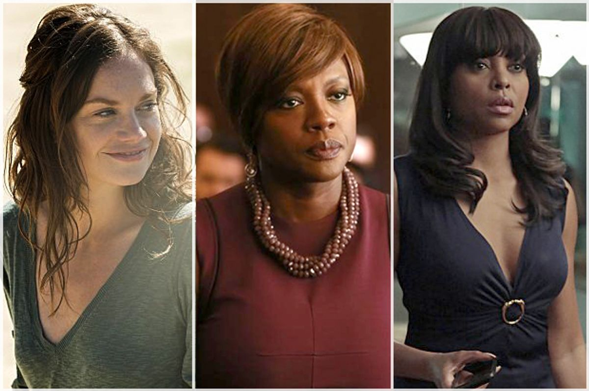Ruth Wilson, Viola Davis, Taraji P. Henson         (Showtime/ABC/CBS)