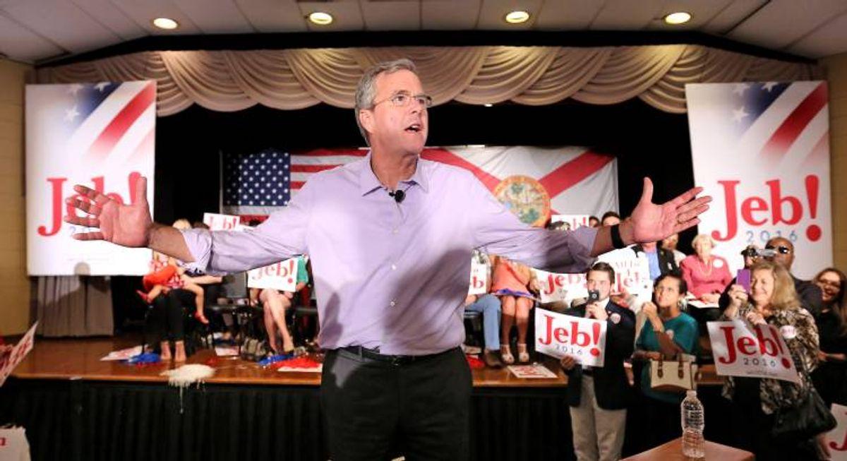 Jeb Bush  (Joe Burbank/Orlando Sentinel via AP)