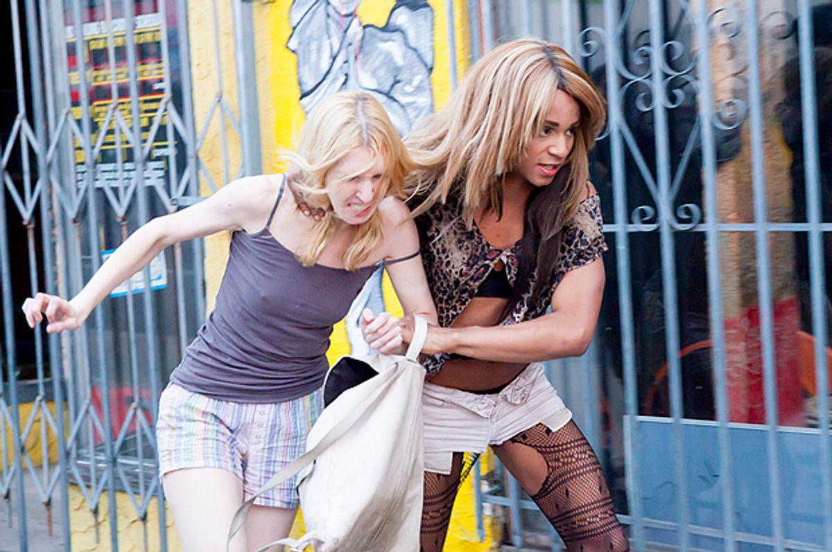 "Mickey O'Hagan and Kitana Kiki Rodriguez in ""Tangerine""         (Magnolia Pictures)"