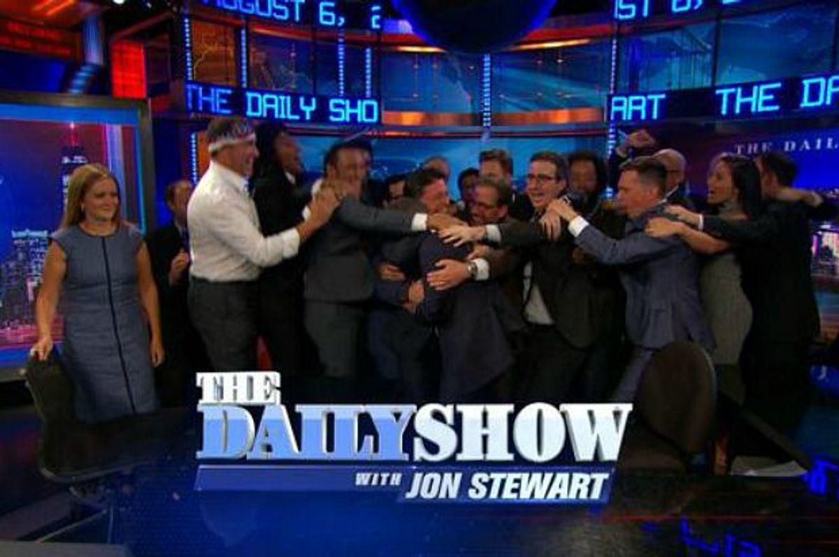 """The Daily Show"" fainle (Comedy Central)"