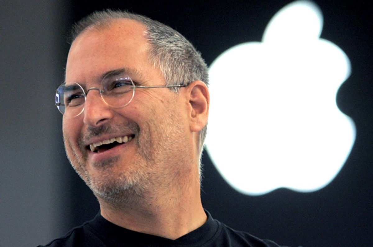 Steve Jobs    (AP/Christophe Ena)