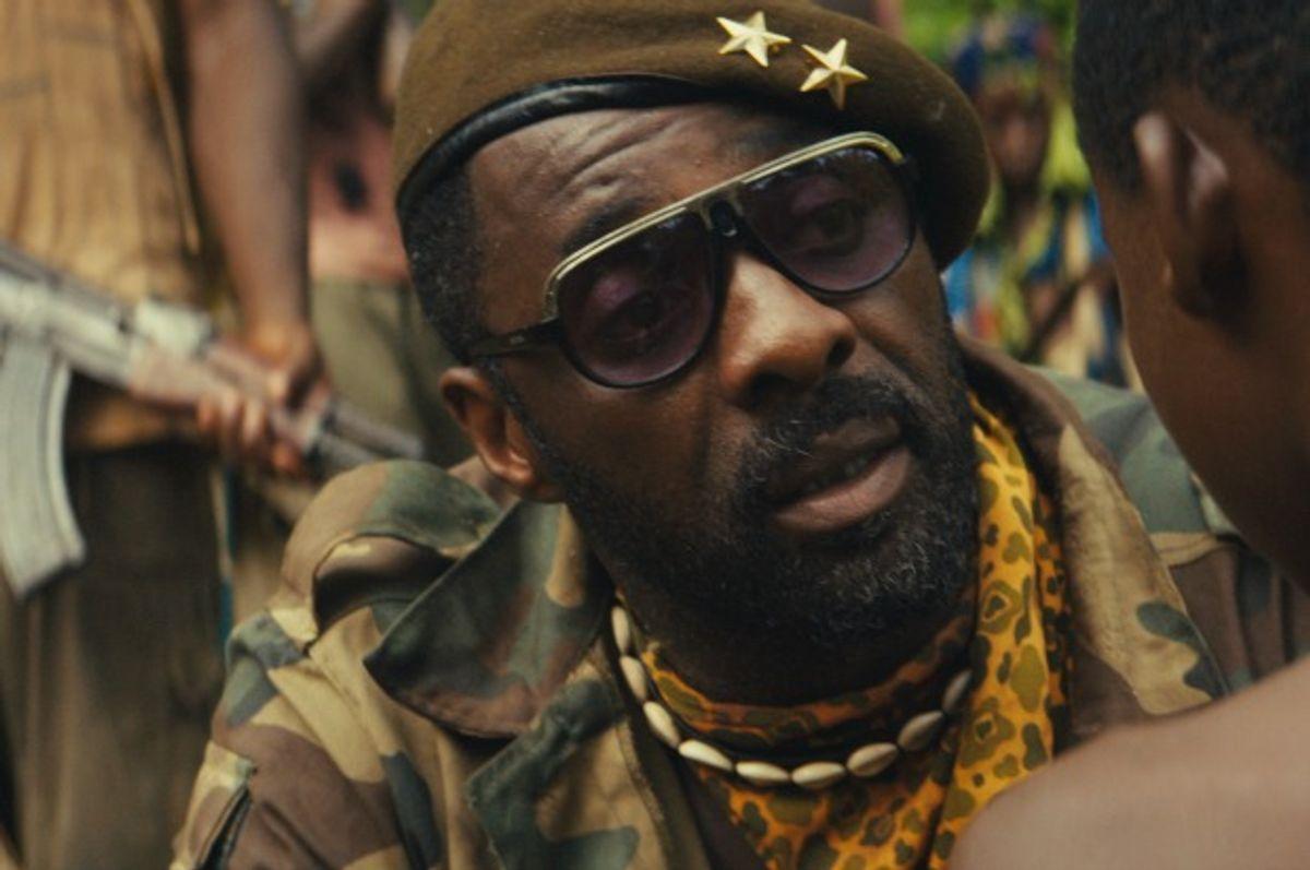 "Idris Elba in the Netflix original film ""Beasts of No Nation"" (Netflix)"