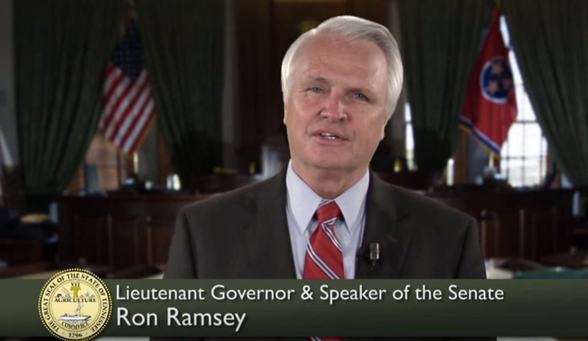 Ron Ramsey (YouTube screenshot)