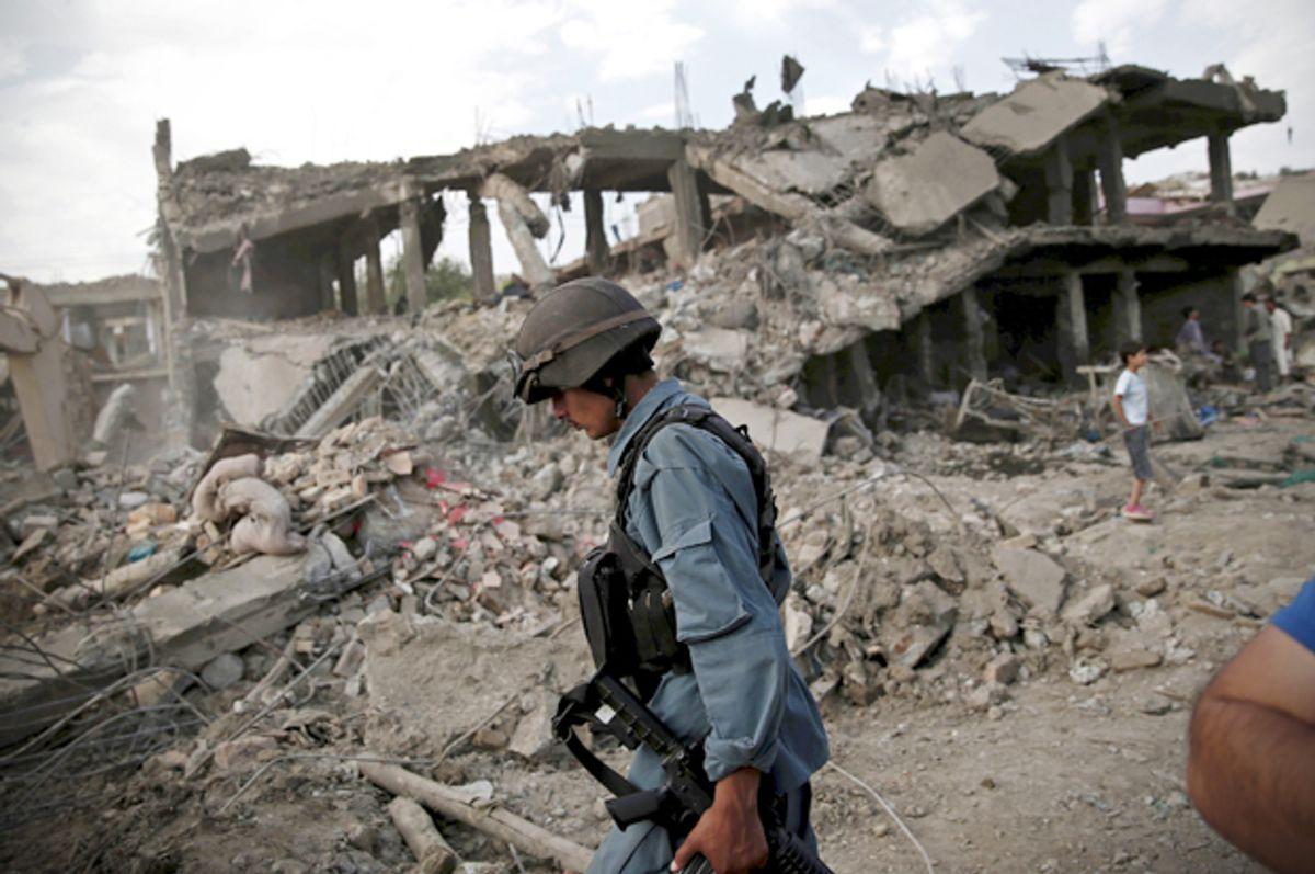 (Reuters/Ahmad Masood)