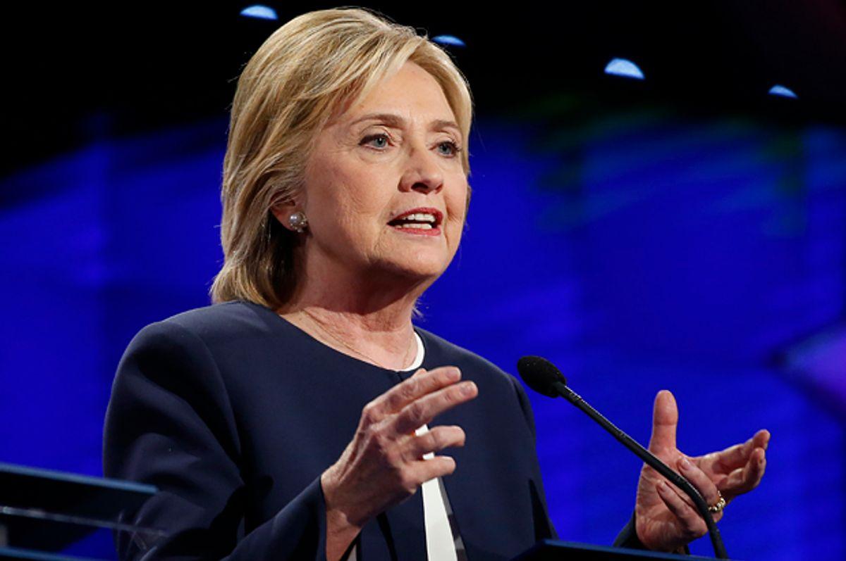 Hillary Clinton   (Reuters/Lucy Nicholson)