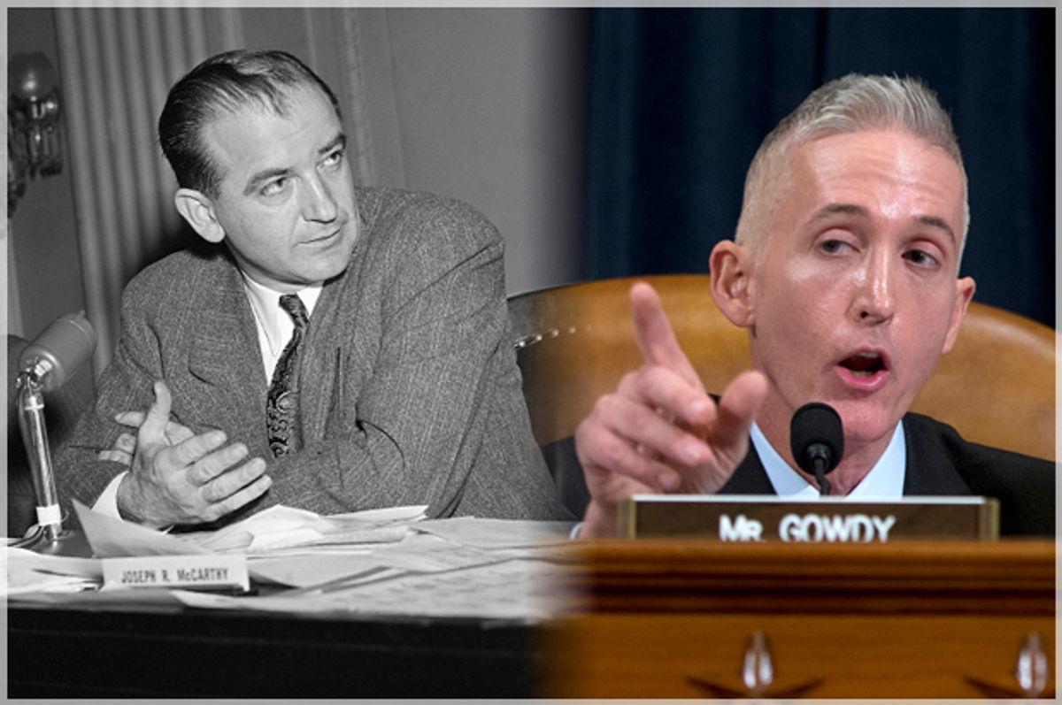 Joseph McCarthy, Trey Gowdy   (AP/Carolyn Kaster)