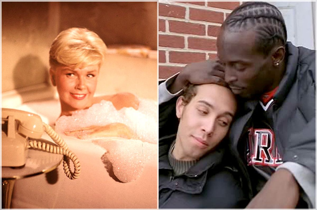 """Doris Day in """"Pillow Talk,"""" Michael Kenneth Williams and Michael Kevin Darnall in """"The Wire""""   (Universal Pictures/HBO)"""