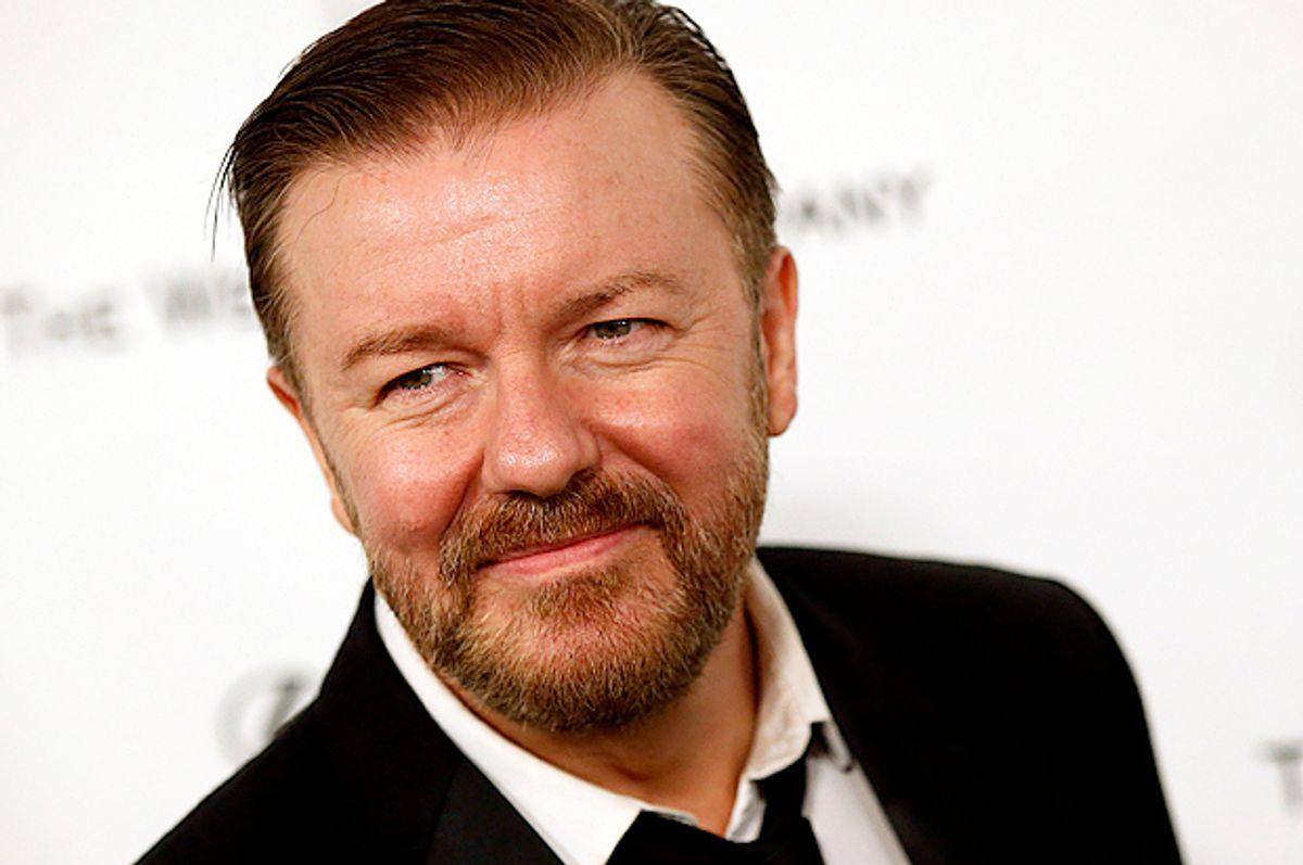 Ricky Gervais   (Reuters/Patrick T. Fallon)