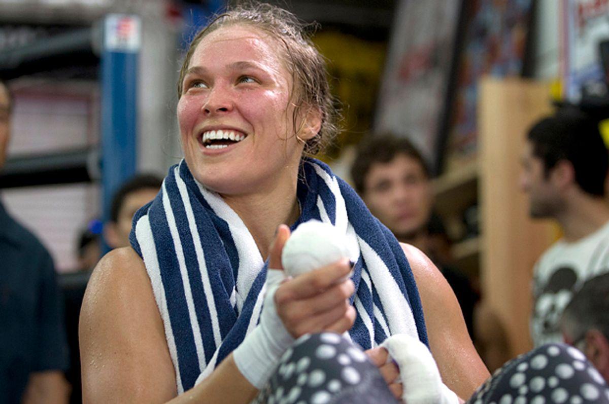 Ronda Rousey (AP/Jae C. Hong)